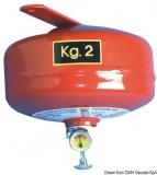 Automatische Pulverfeuerlöscher KAT. A B C 2Kg