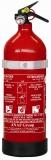 Pulver-Feuerlöscher zugelassen nach MED mit Manometer 1kg Abgenommen in: Italien/Kroatien/Slowenien/Schweiz