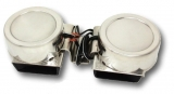 Mini Hörner doppelt elektronisch Niro Gehäuse