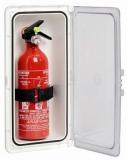Verschließbares Aufbewahrungsfach für Feuerlöscher