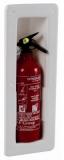 Aufbewahrungsfach mit Schnappverschluss für 1kg ANAF Feuerlöscher