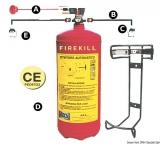 Automatische Feuerlöschanlage RINA-geprüft 12kg