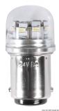 LED-SMD-Lampe BA15D für LED-Strahler mit Glasabdeckung Leistung 1,2 Watt