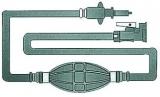 Treibstoffschlauch und Tankanschluss Version mit 2 Anschlüssen Mercury Mariner, nach 1987