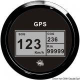 GPS Geschwindigkeitsmesser  Typ 2 Anzeige schwarz, Ring schwarz  Kein Geber notwendig.