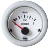 Wasseranzeige Anzeige weiß Blende weiß 12Volt