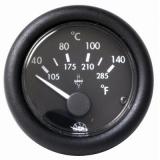 Temperaturanzeige Anzeige schwarz Blende schwarz Typ Öl 40-150 24V