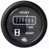 Betriebsstundenzähler Anzeige schwarz Blende schwarz Spannung 24V