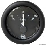 Amperemeter 30-0-30A Anzeige schwarz Blende schwarz
