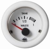 Waste Schmutzwasseranzeige Anzeige Anzeige weiß Blende weiß Spannung 12 V