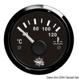 Wassertemperaturanzeige Anzeige schwarz Blende schwarz