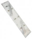 MICRON Navigationslineal für Parallelverschiebungen, 40 cm