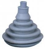 Kabeldurchlass aus Dutral Farbe grau 74mm