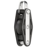 Sprenger - 8mm Gleitlagerblock mit 1 Rolle, Bügel und Hundsfott