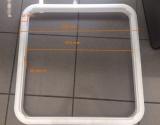 Gegenflansch Innen für BOMAR Contour mit flachen Profil 19.720.05 Öffnung 490x490mm
