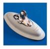 Montagefuß mit Niro Fitting für Schlauchboote